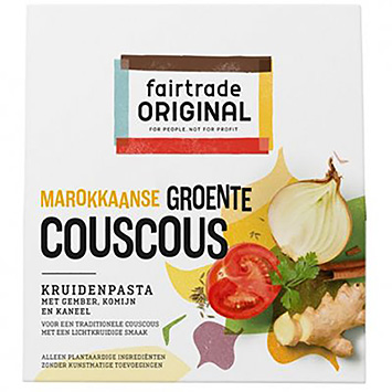 Fairtrade original Moroccan vegetable couscous herb paste 70g