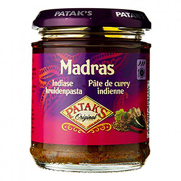 Patak's Madras Indian spice paste 165g