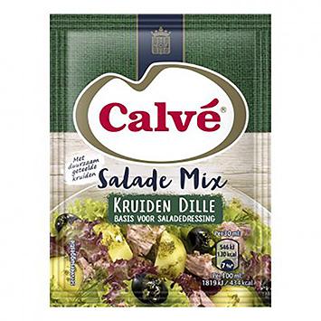 Calvé Salademix kruiden dille 27g