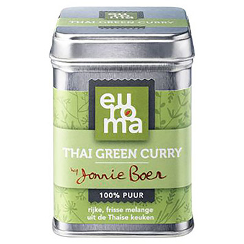 Euroma Thai grøn karry 70g