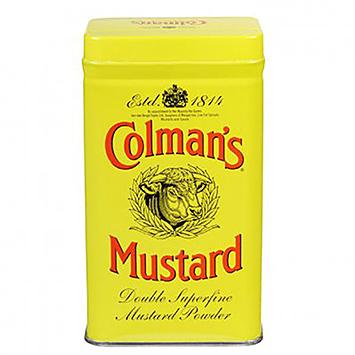 Moutarde double super fine moutarde de Colman's 113g