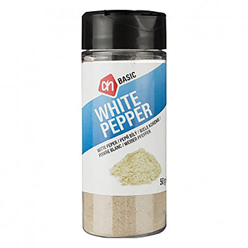 AH BASIC White pepper 50g