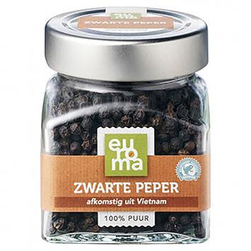 Euroma sort peber 73g