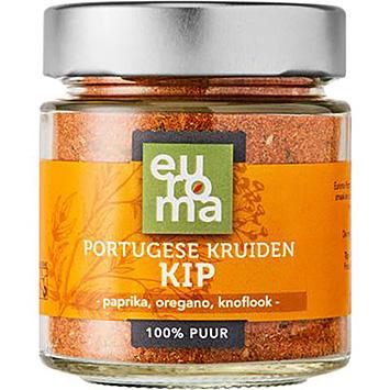 Poulet aux épices d'Euroma à la portugaise 59g