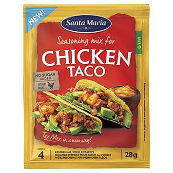 Santa Maria Assaisonnement pour taco au poulet 28g