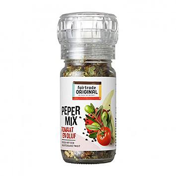 Fairtrade Original Pfeffermischung Tomaten und Oliven 40g