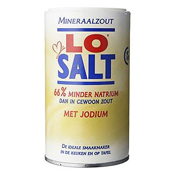 LoSalt Sel minéral avec de l'iode 350g