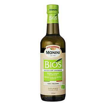 Monini Bios extra vierge olijfolie 500ml