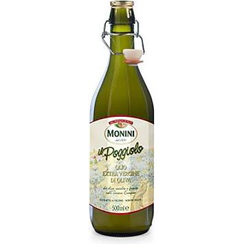 Monini Olio extra vergine di oliva poggiolo 500ml