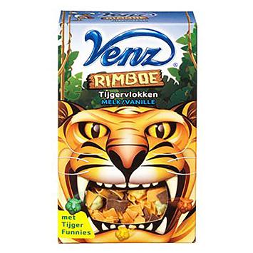 Venz Rimboe Tigerflocken Vollmilch Vanille 200g