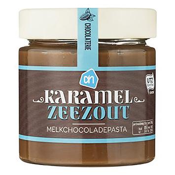 AH Karamel zeezout melkchocoladepasta 200g