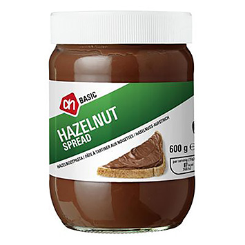 AH BASIC Hazelnut spread 600g