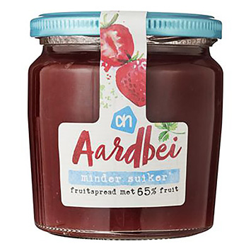 AH Strawberry fruit spread less sugar 335g