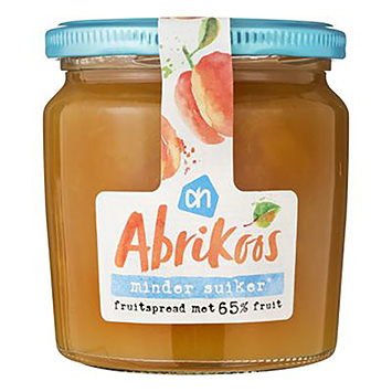 AH Apricot fruit spread less sugar 320g