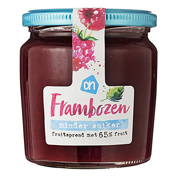 AH Frambozen fruitspread minder suiker 320g