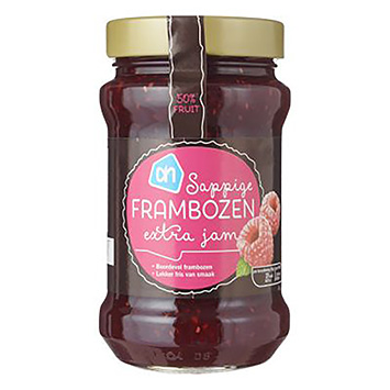 Ah Juicy Raspberry Extra Jam 450g