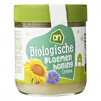 AH Organic flower honey cream 450g
