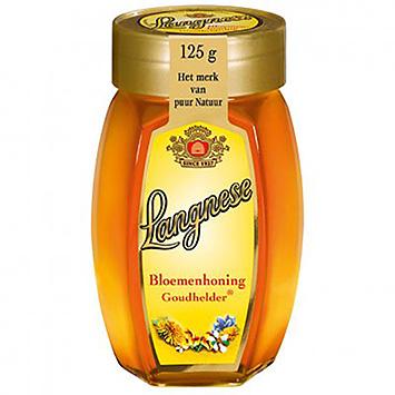 Langnese Bloemenhoning goudhelder 125g