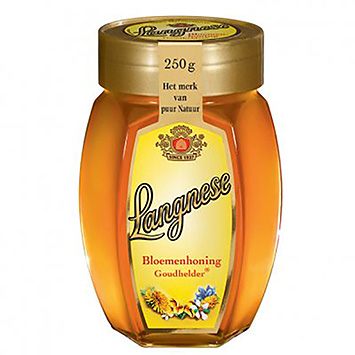 Langnese Flower honey golden clear 250g