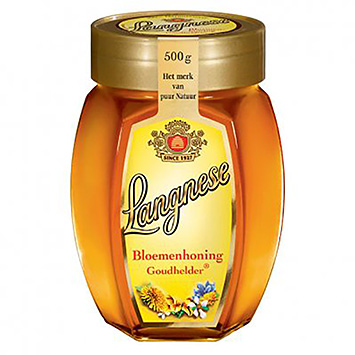 Langnese Flower honey golden clear 500g
