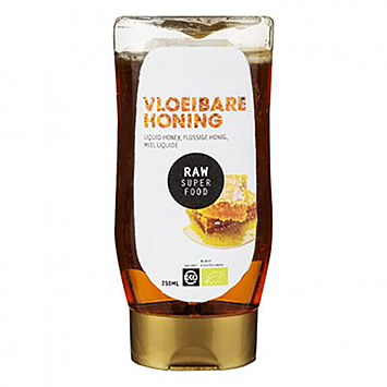 Raw organic food Vloeibare honing 250ml