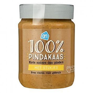 AH 100% peanut butter with pieces of 350g
