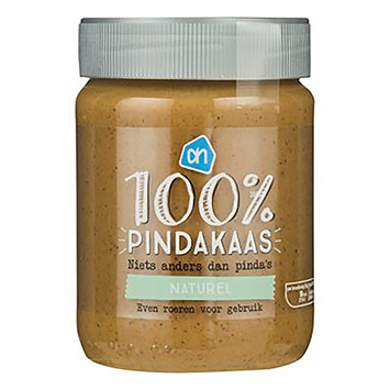 AH 100% natural peanut butter 350g