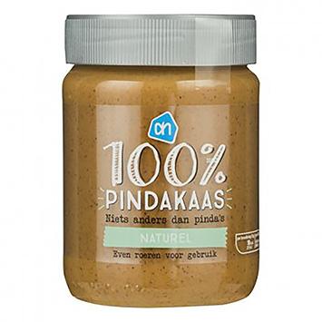 AH 100% pindakaas naturel 350g