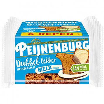 Peijnenburg Dubbel lekker melk 5x49g