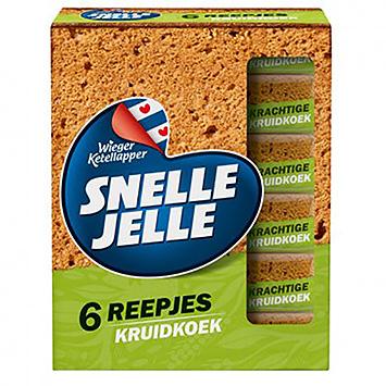 Snel Jelle 6 Tranches de pain d'épice 6x36g