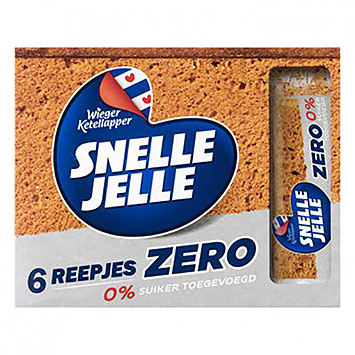 Snel Jelle 6 Strips of zero 0% sugar added 6x36g