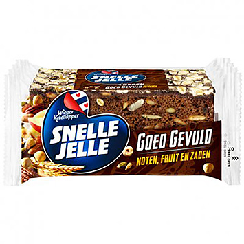 Snelle Jelle Well-filled nut fruit and seeds 4x53g