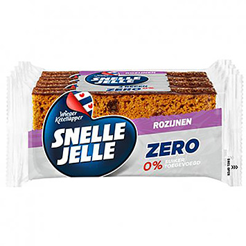Fast Jelle Zero 0% sugar added raisins 4x42g