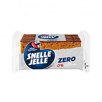 Snelle Jelle Zero 0% suiker toegevoegd 4x42g