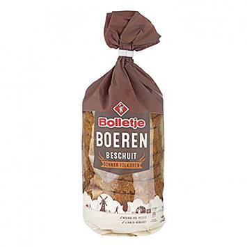 Bolletje Farmers Biscotte à grains entiers foncé 160g