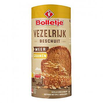 Bolletje Biscotte riche en fibres, plus de céréales 190g