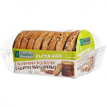 Damhert Glutenfreie Mehrkornzwiebacke 140g