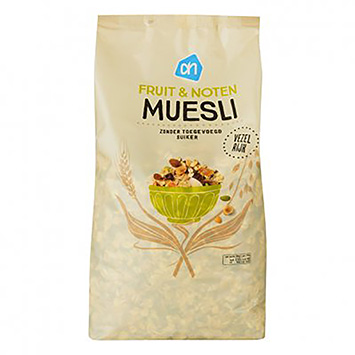 AH Muesli fruit en noten 1000g