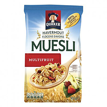 Quaker Havermout muesli multifruit 450g