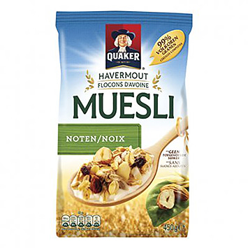 Quaker Havermout muesli noten 450g