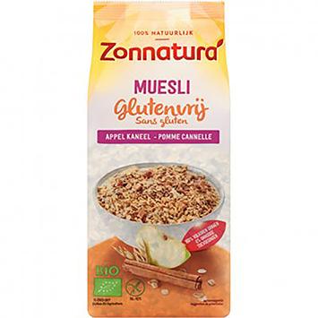 Zonnatura Muesli apple cinnamon gluten-free 375g