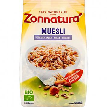 Zonnatura Muesli noten en zaden 375g