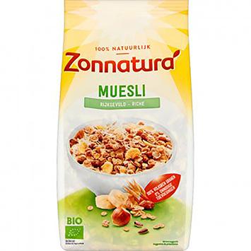 Zonnatura Muesli richly filled 500g