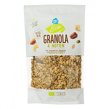 AH Biologische granola 4 noten 325g