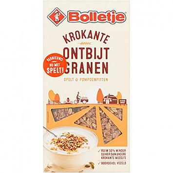 Bolletje Krokante ontbijtgranen spelt en pompoenpitten 385g