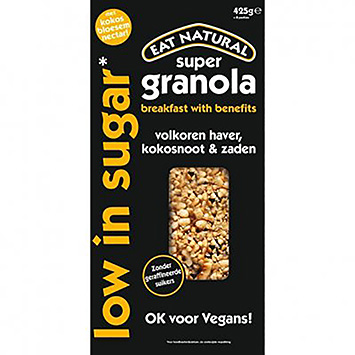 Eat natural Super granola low in sugar 425g