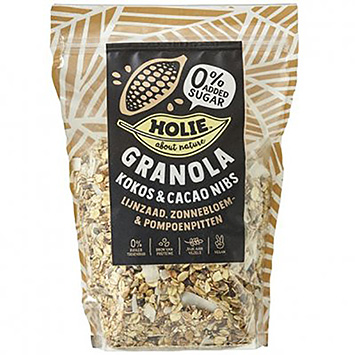 Holie Granola coconut and cocoa nibs 350g