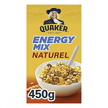 Quaker Energy mix naturlige 450g