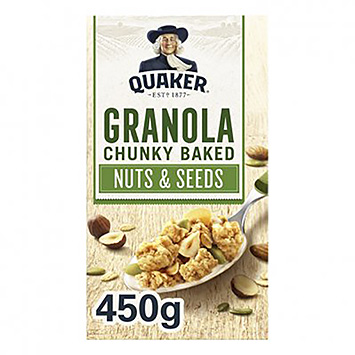 Quaker Granola chunky baked nuts and seeds 450g