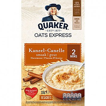 Quaker Oats express havermout kaneel 330g